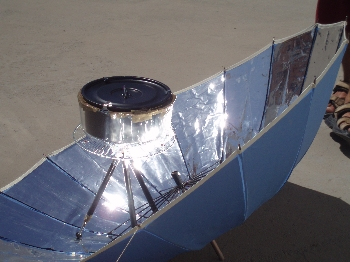 Portable Solar Barbeque