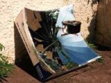 Hot plate solar cooker