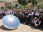 Little Earth parabolic cooker introduction, Tajikistan, 2008