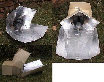 Pentagon Star solar cooker.jpg