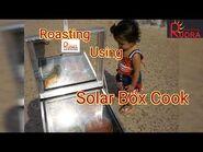 Roasting Using Solar Box Cooker - Solar Cooker In India - Solar Box Cooker - -solarcooker - -Solar-2