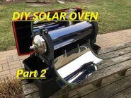 Stockton Solar Oven - Part 2 - The Tube & Holders