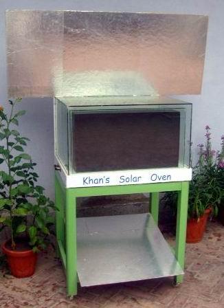 Khan's Solar Oven