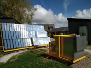Solar array at NeoLoco, 2-10-21