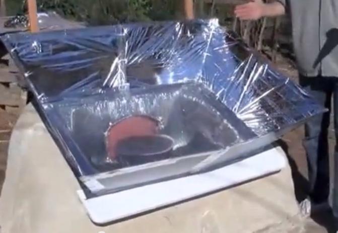 Cob Solar Box Cooker