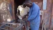 Fabrication de cuiseurs solaires au Burkina Faso!