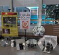 Fogao Solar display -2 at Porto Alegre, Brazil, 8-8-19