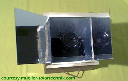 Low-cost Wooden Solar Box Cooker
