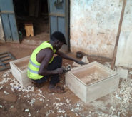 Solar box cooker production 2, Farmers With a Vision, 10-8-21