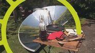 Four solaire révolutionnaire SOLARIO COOKER de chez FOCALIS