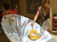 Parabolic solar cooker, India, CNN, 10-21-21
