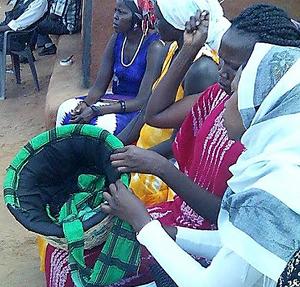 Faustine Odaba in Kenya refugee camps 2, 2016