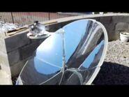SOLAR COOKER- SOLAR GRILL- SŁONECZNY GRILL- test 5 b) EGGS