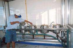 Gaviotas Hospital kitchen