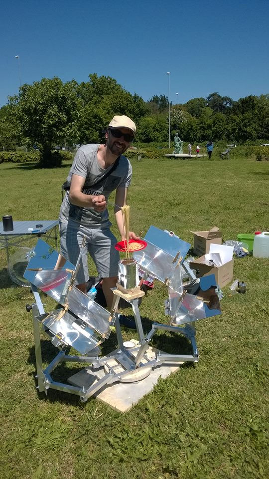 MUMA Solar Cooker