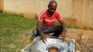 Solar Tyre Oven for under $5 How to make a cheap solar cooker Tire Oven