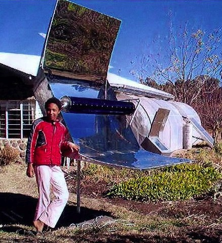 Solar-Trough-Baking-Oven