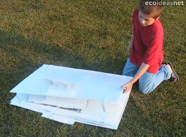 Pop-up Solar Cooker Book