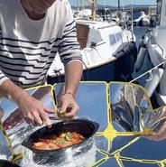 SUNGOOD food prep. ''photo credit Solar Brother'', 7-29-21