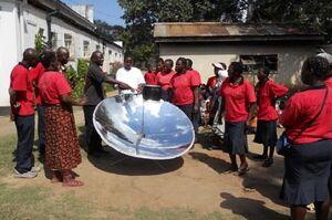 Madison Solar Engineering demonstration, 5-20-13.jpg