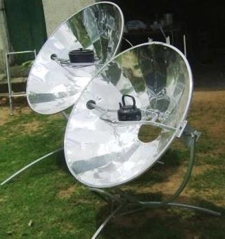 Olympus Flower Solar Cooker