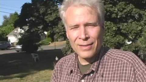Tom Sponheim at Sustainable NE Seattle's Solar Cookout