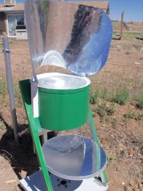 Art's Hybrid Solar Oven
