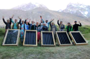 Little Earth Introductory group photo, Pamir, Tajikistan, 2019
