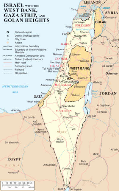 Israel map.png