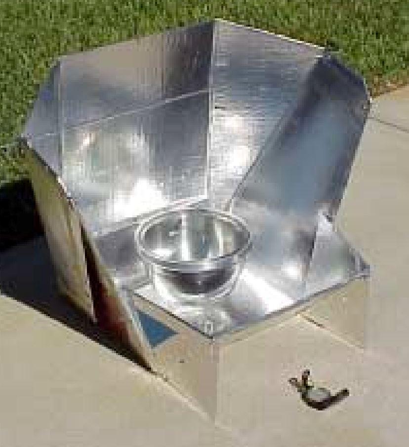 High Back Solar Cooker