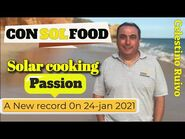 """Spreading our passion for solar cooking"" - Special meeting CONSOLFOOD - A Record setting event"