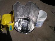 Steel bowl cooker