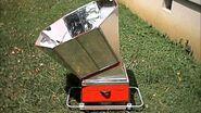 Barbecue solaire KotoSolarBBQ (diapo) - Concept de la Cuisson Solaire