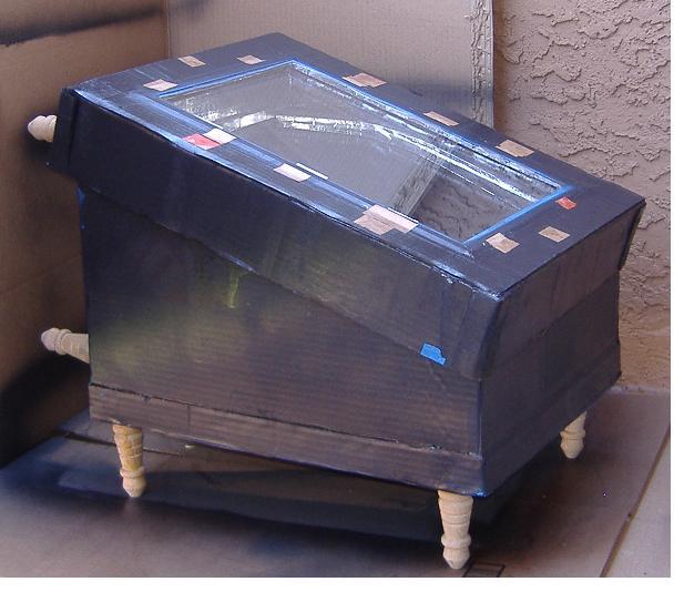 19/71/64 Degree Orientation Solar Box Oven