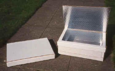 Collapsible Solar Box Cooker