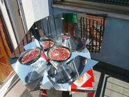 Kimono Solar Cooker Crostata di Susine