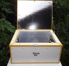 Full Sun Solar Cooker 1, 3-28-12