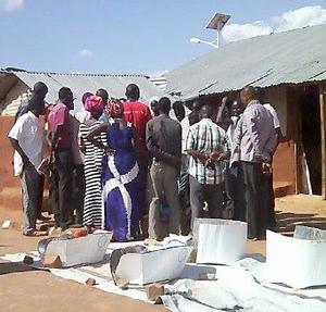 Faustine Odaba in Kenya refugee camps 1, 2016