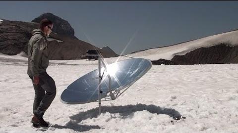 Cuiseur solaire SOLARIO COOKER à la montagne-1