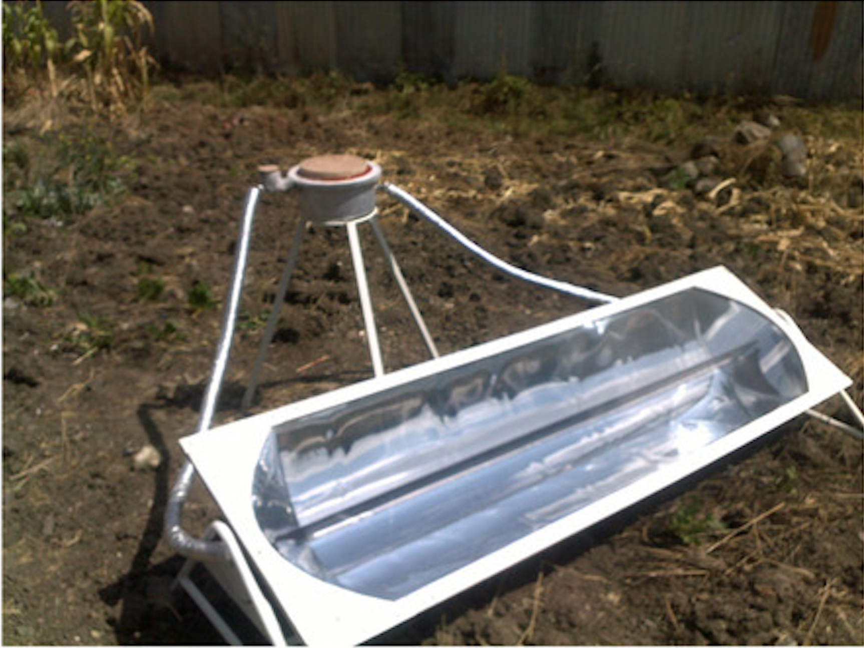 Remote Solar Cooking System