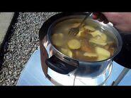 SOLAR COOKET- SLONECZNY GRILL- Gotowanie ziemniaków 2cz.