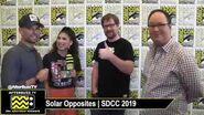 Solar Opposites Creators Compare Their Show to Rick and Morty SDCC 2019