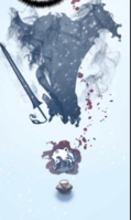 Igris killing Boss Ice Bear 2