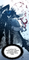 Igris killing Boss Ice Bear