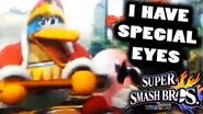 The Crazy 1 in 10000000 Smash WiiU Glitch is REAL! VIDEO EVIDENCE! DEDEDE'S EYES