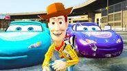 Toy Story Woody Disney Cars Pixar Nursery Rhymes For Children Lighning McQueen