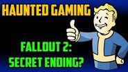 """Fallout 2 Secret Ending"" - Haunted Gaming (CREEPYPASTA)"