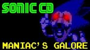 """Sonic CD- Maniacs Galore"" (SH!TPASTAS)"