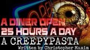 """""""A Diner Open 25 Hours a Day"""" reading by Ghost Mummy"""