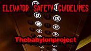 """Elevator Safety Guidelines"""